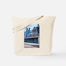 Ann Arbor Train Station Tote Bag