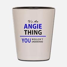 Unique Angie Shot Glass