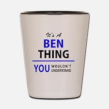 Cute Ben Shot Glass