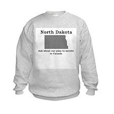 Secede to Canada Sweatshirt