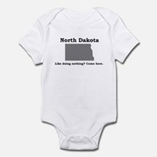 Like doing nothing Infant Bodysuit