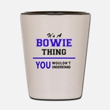 Cool Bowie Shot Glass
