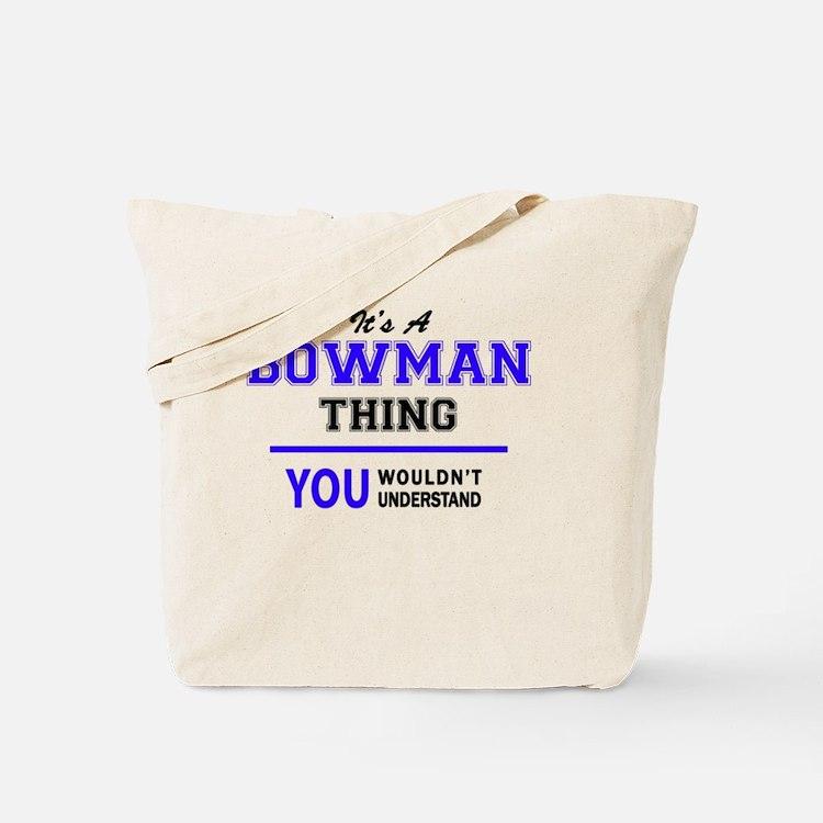 Cute Bowman Tote Bag