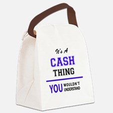 Cool Cash Canvas Lunch Bag