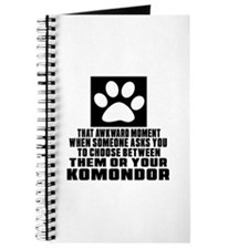 Komondor Awkward Dog Designs Journal