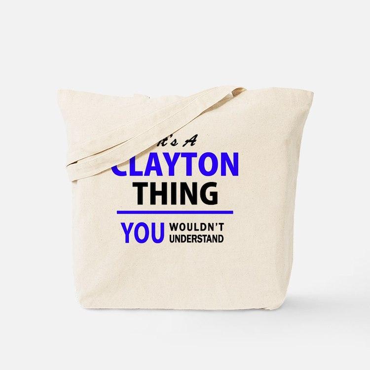 Cute Clayton Tote Bag
