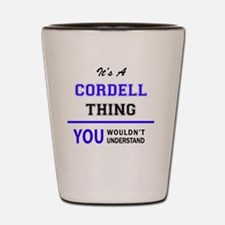 Cute Cordell Shot Glass
