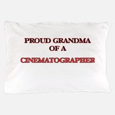 Proud Grandma of a Cinematographer Pillow Case