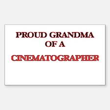 Proud Grandma of a Cinematographer Decal