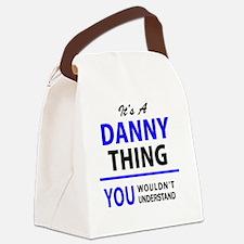 Unique Danny Canvas Lunch Bag
