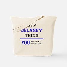 Unique Delaney Tote Bag