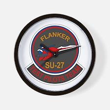 Su-30 Flanker Wall Clock