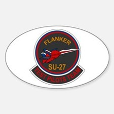 Su-30 Flanker Oval Decal