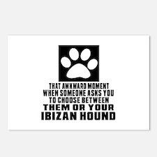 Ibizan Hound Awkward Dog Postcards (Package of 8)