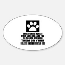 Greater Swiss Mountain Dog Awkward Decal