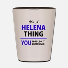 Unique Helena Shot Glass
