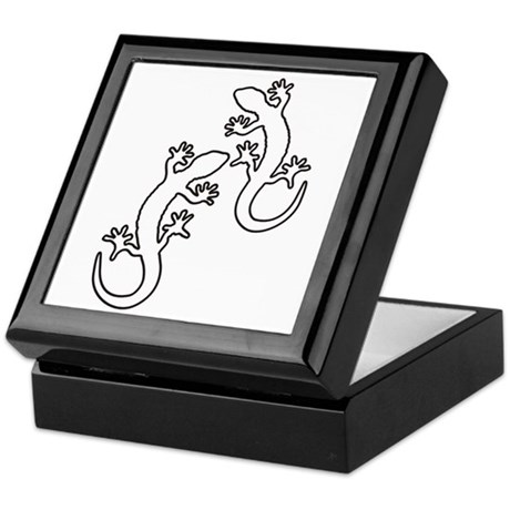 geckos black keepsake box by crazymind. Black Bedroom Furniture Sets. Home Design Ideas