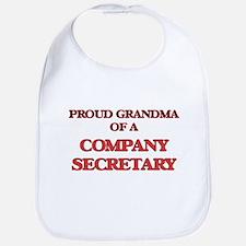 Proud Grandma of a Company Secretary Bib