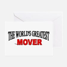 """""""The World's Greatest Mover"""" Greeting Card"""