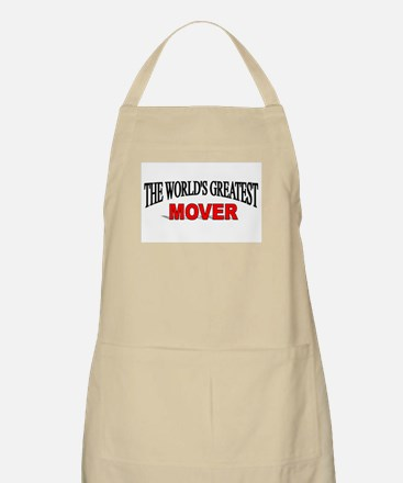 """""""The World's Greatest Mover"""" BBQ Apron"""
