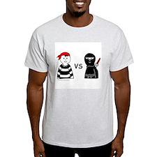 PIRATE VERSUS NINJA T-Shirt