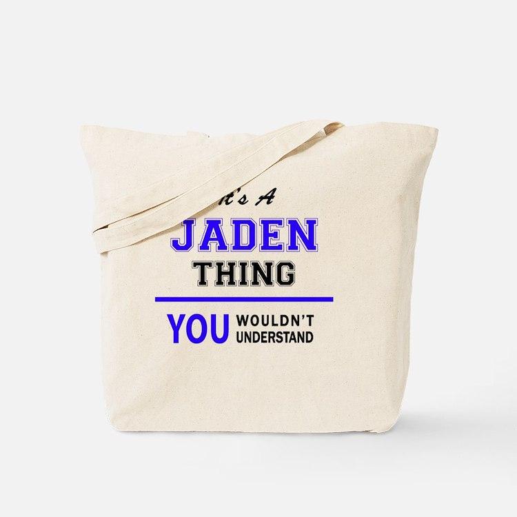 Cute Jaden Tote Bag