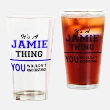 Cute Jamie Drinking Glass