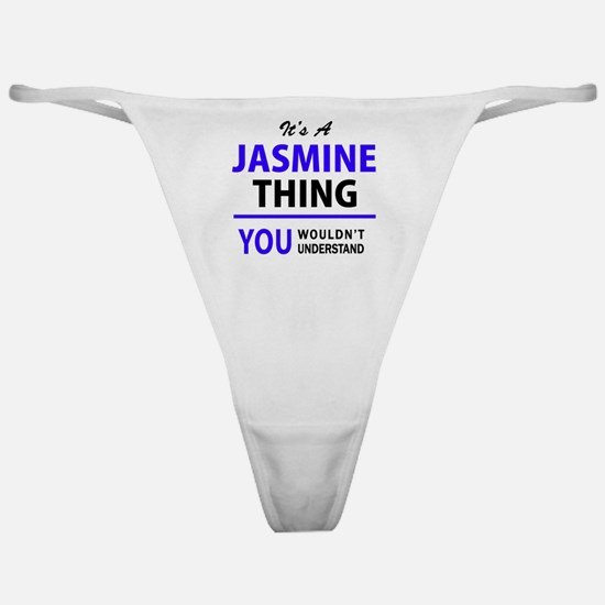 Cute Jasmine Classic Thong