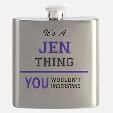 Unique Jen Flask