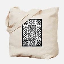 Celtic Knot Bare Branches Tote Bag