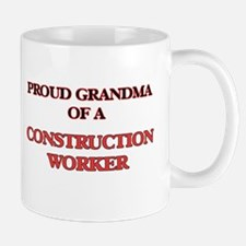 Proud Grandma of a Construction Worker Mugs