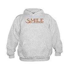 Smile: It Confuses People Hoodie