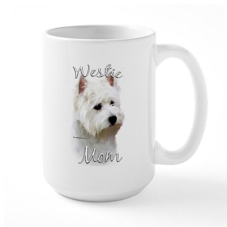 Westie Mom2 Large Mug