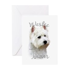 Westie Mom2 Greeting Card