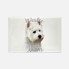 Westie Mom2 Rectangle Magnet