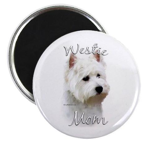 Westie Mom2 Magnet