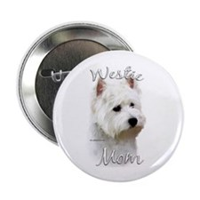 Westie Mom2 Button