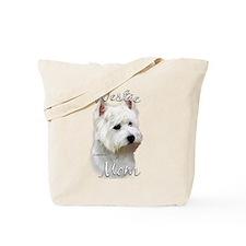 Westie Mom2 Tote Bag