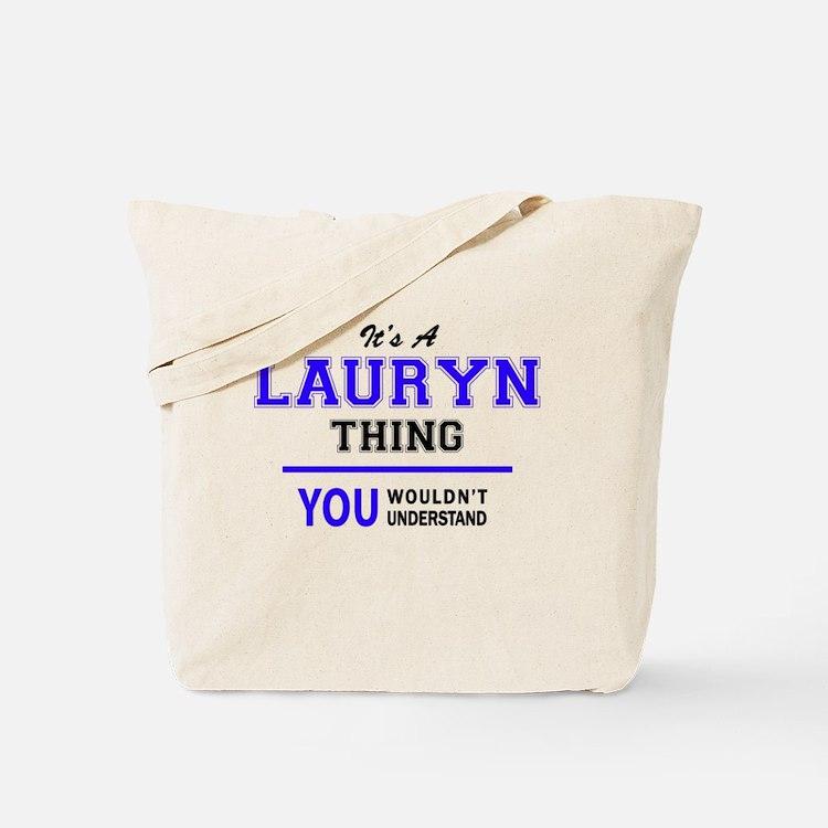 Cute Lauryn Tote Bag
