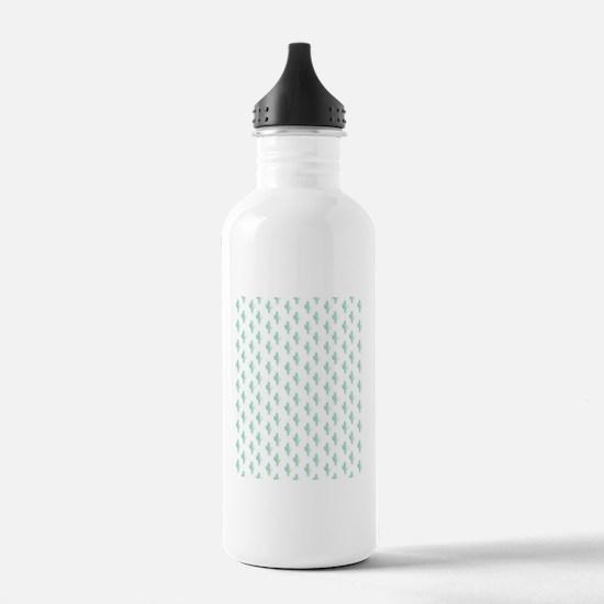 Cute Cactus Sports Water Bottle