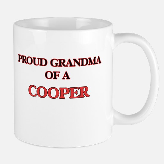 Proud Grandma of a Cooper Mugs