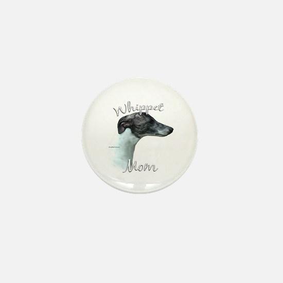 Whippet Mom2 Mini Button