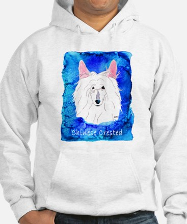 Chinese Crested Powder Puff Hoodie