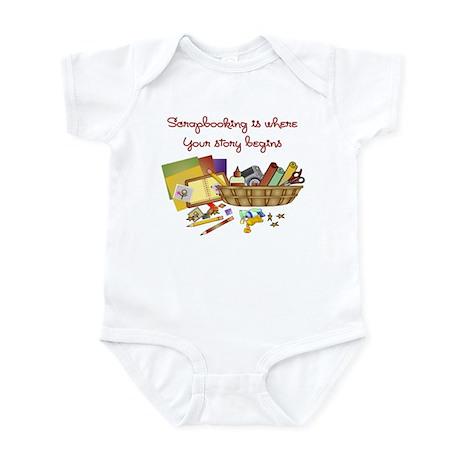 Scrapbooking Infant Bodysuit