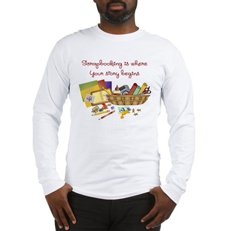 Scrapbooking Long Sleeve T-Shirt