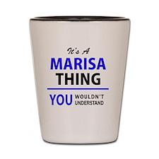 Funny Marisa Shot Glass