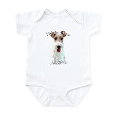 Wire Fox Mom2 Infant Bodysuit