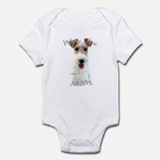 Wire Fox Mom2 Infant Bodysuit