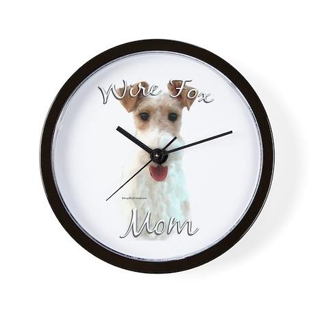 Wire Fox Mom2 Wall Clock
