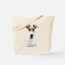 Wire Fox Mom2 Tote Bag